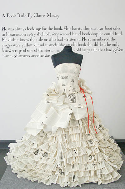 The Word Dress exhibit